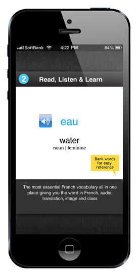Best French Words & Phrases App - WordPower French